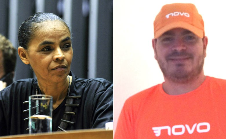 Marina Silva e Rodrigo Constantino tiveram seus partidos aprovados pelo TSE, ideologias à parte